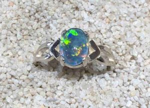 Idaho Opal Ring