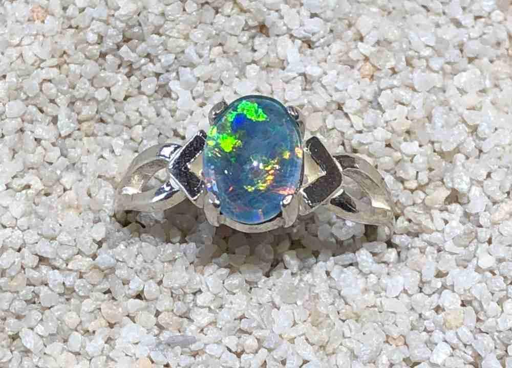 Idaho Opal Ring