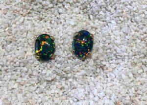 Gold-Idaho-Opal-Earrings
