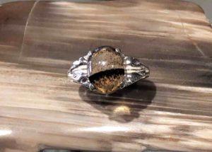Mt Agate Leaf Ring