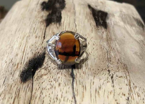 Montana Agate Oval Ring