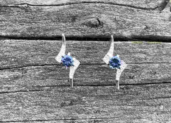 Montana-Sapphire-4mm-Earrings
