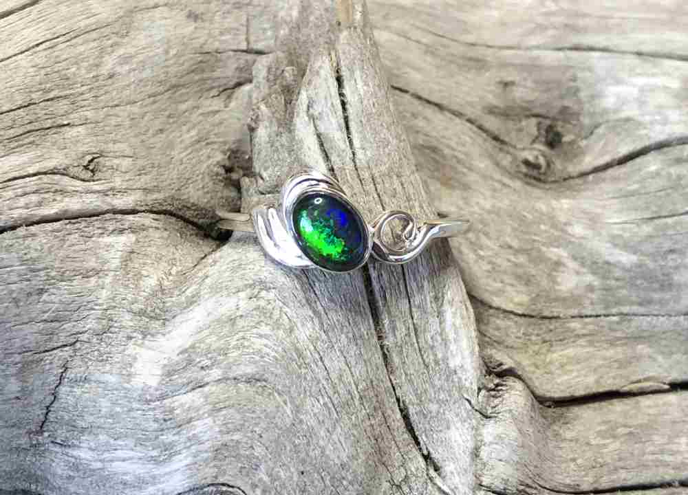 Idaho-Opal-Solitaire-Ring