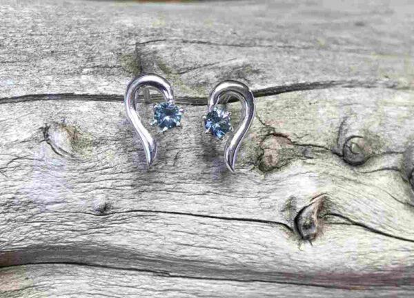 Montana-Sapphire-Hook-Earrings
